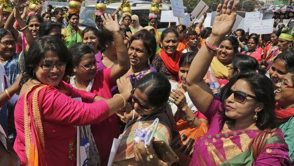Así celebran el Día de la mujer en la India - Sputnik Mundo