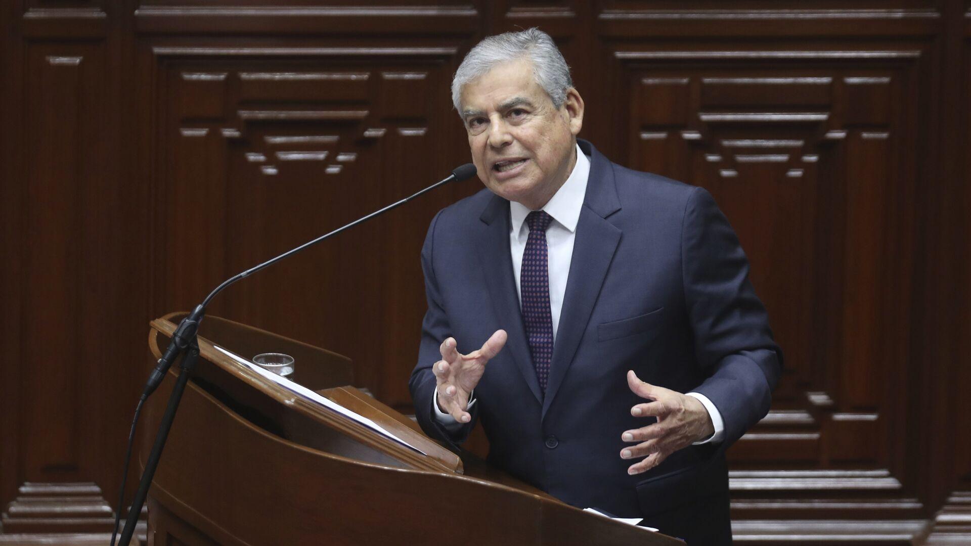 César Villanueva, ex primer ministro de Perú - Sputnik Mundo, 1920, 03.09.2021