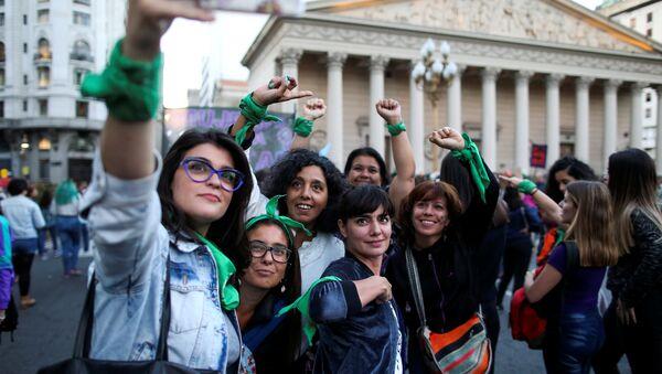Las feministas argentinas - Sputnik Mundo