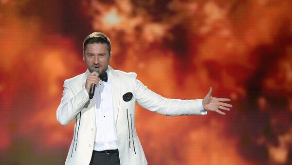 Serguéi Lázarev, cantante ruso - Sputnik Mundo