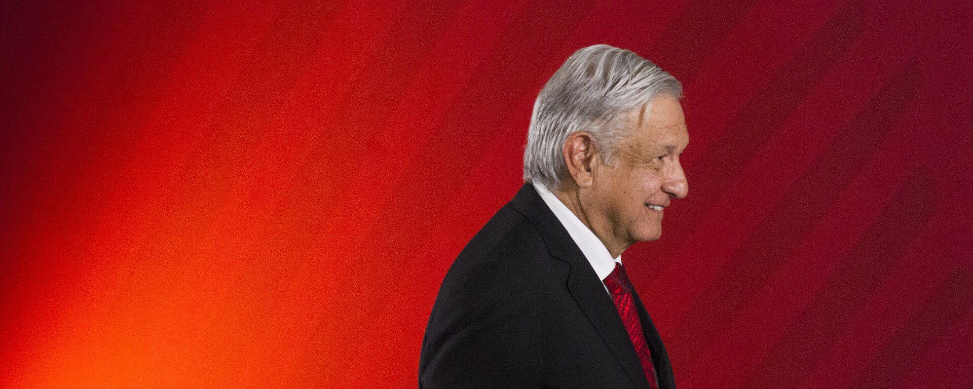 Andrés Manuel López Obrador, presidente de México - Sputnik Mundo, 1920, 25.01.2021