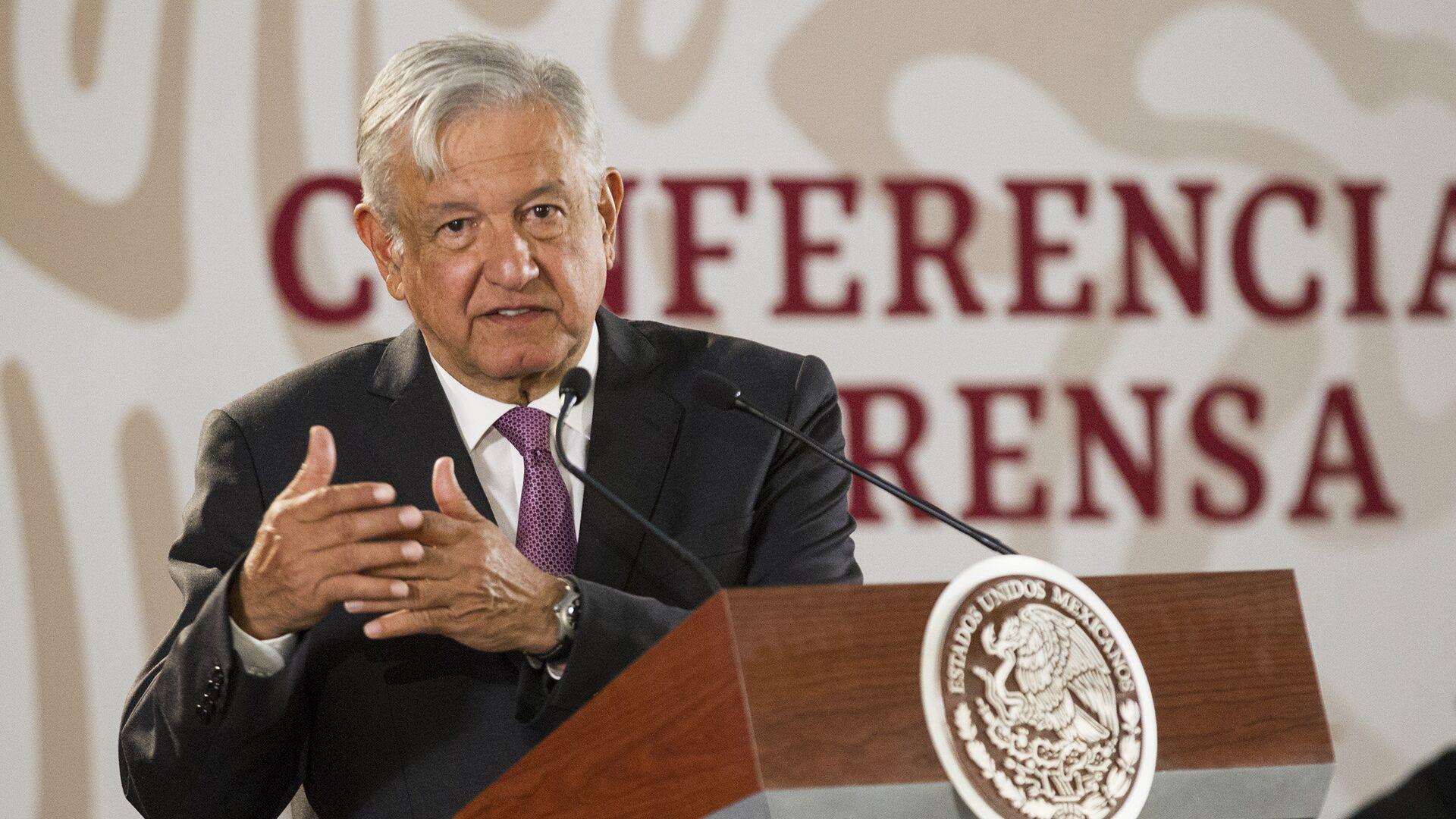 Andrés Manuel López Obrador, presidente de México - Sputnik Mundo, 1920, 16.08.2021