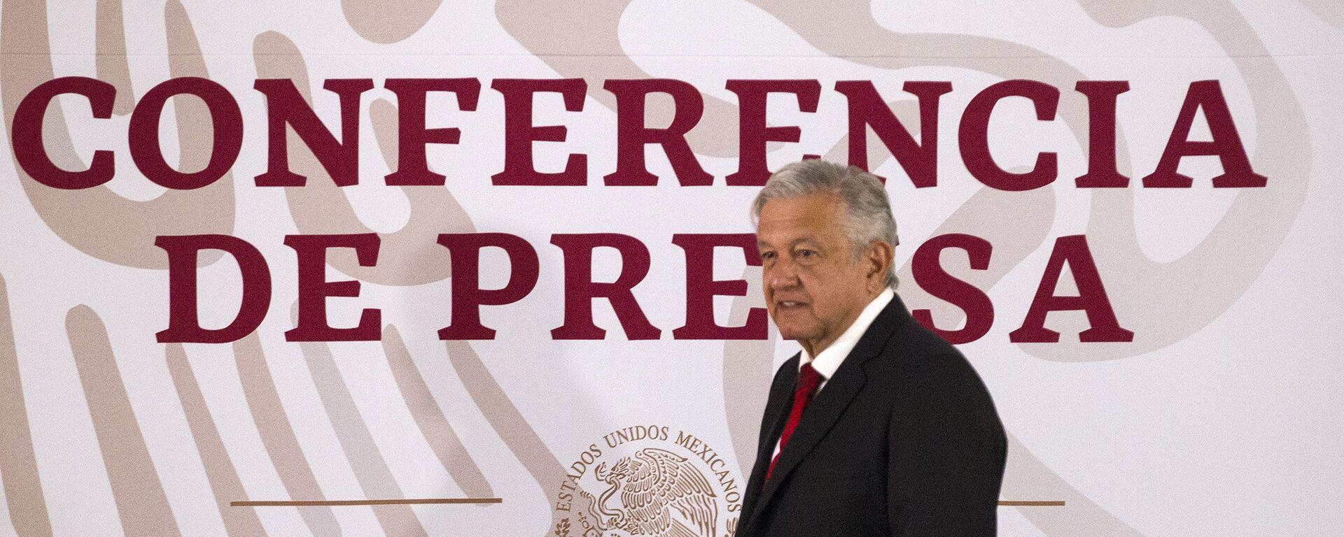 Andrés Manuel López Obrador, presidente de México - Sputnik Mundo, 1920, 30.08.2021