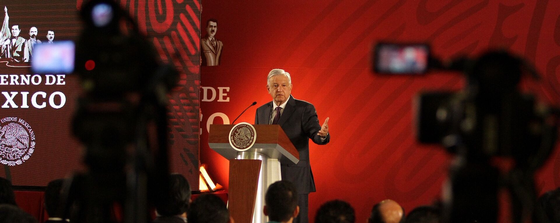 Andrés Manuel López Obrador, presidente de México - Sputnik Mundo, 1920, 11.01.2021