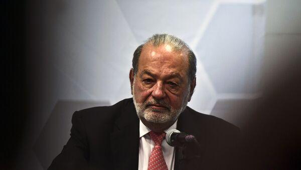 El magnate mexicano Carlos Slim - Sputnik Mundo