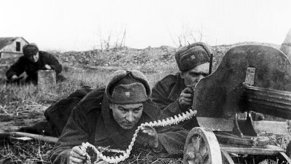 Los combates durante la Segunda Guerra Mundial - Sputnik Mundo