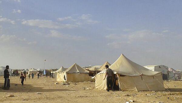 El campo de refugiados Rukban, Siria - Sputnik Mundo