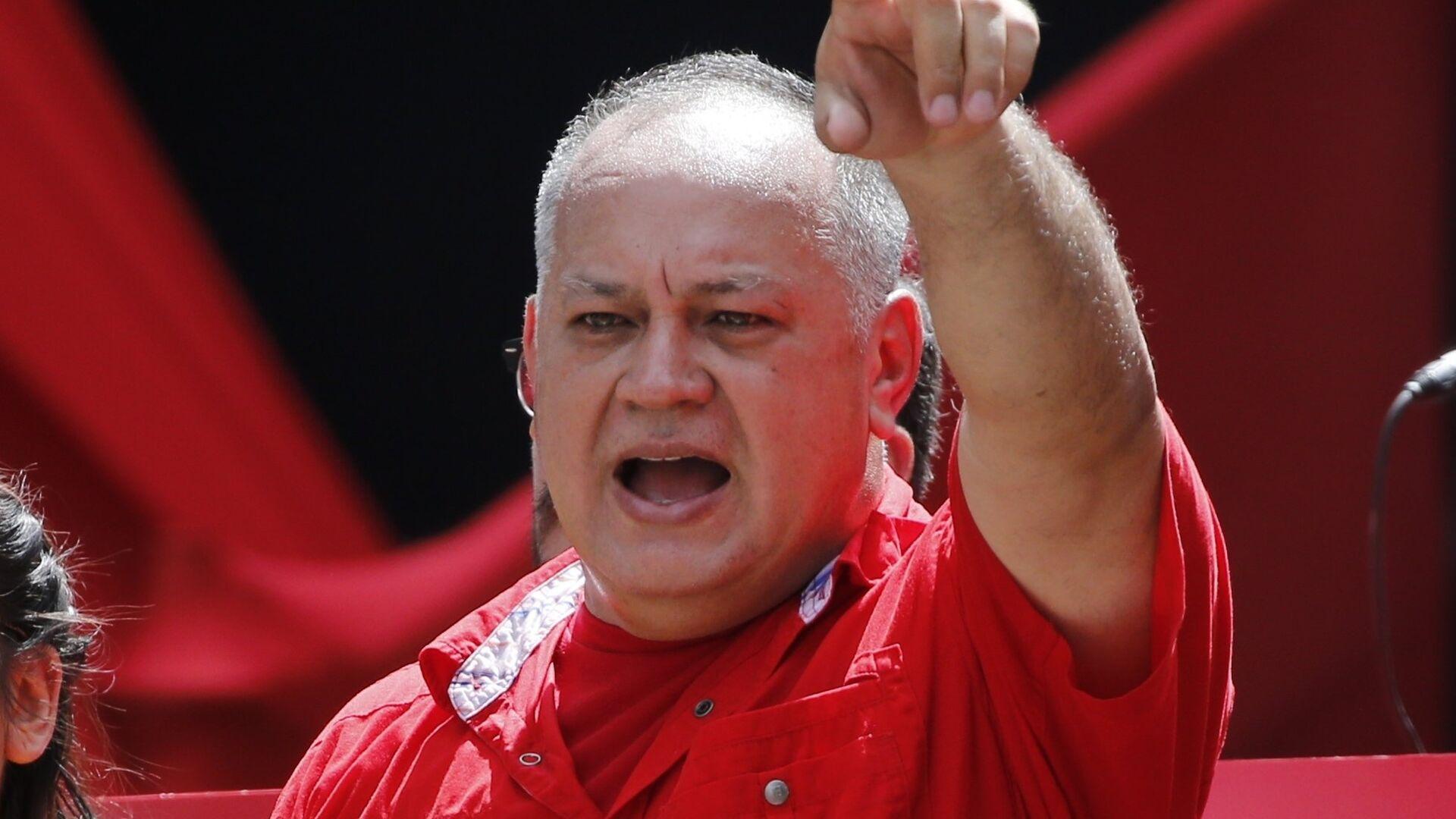 Diosdado Cabello, presidente de la Asamblea Nacional Constituyente de Venezuela - Sputnik Mundo, 1920, 11.10.2021