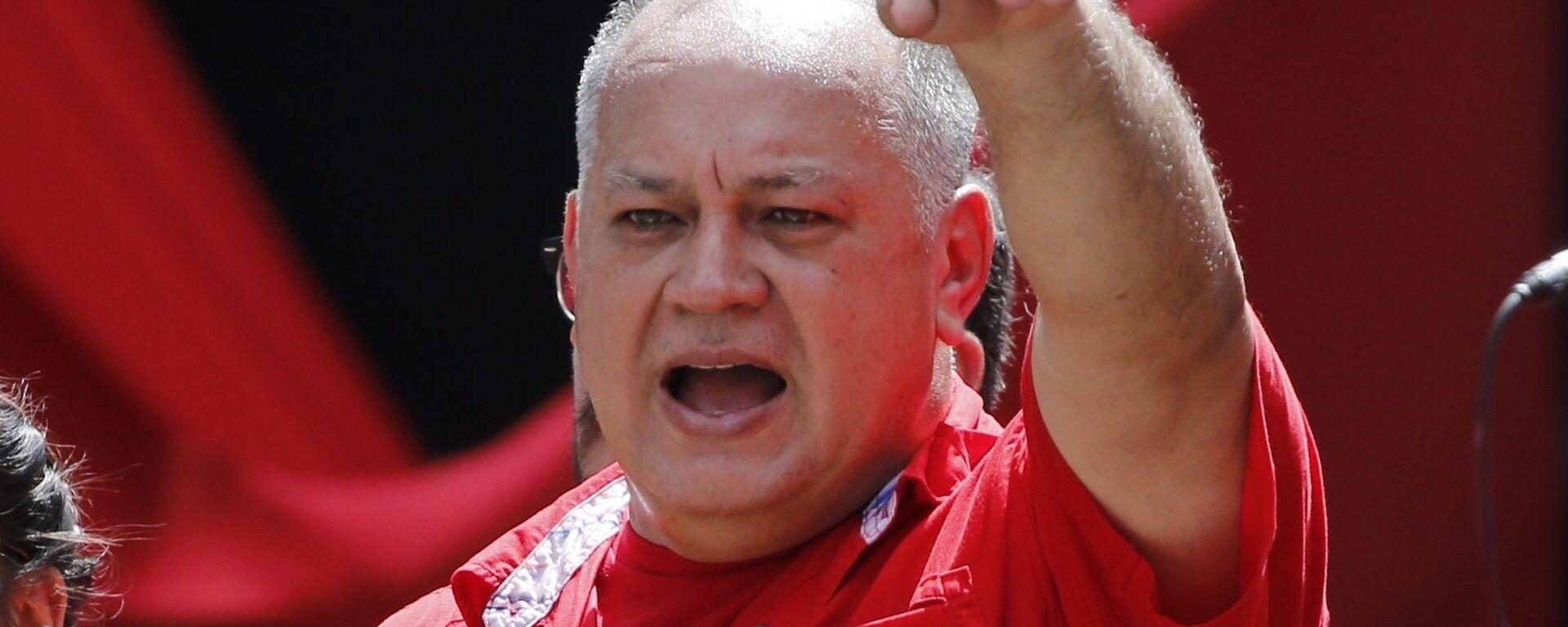 Diosdado Cabello, presidente de la Asamblea Nacional Constituyente de Venezuela - Sputnik Mundo, 1920, 28.01.2021