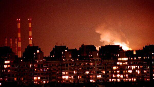 Бомбардировка Белграда силами НАТО - Sputnik Mundo