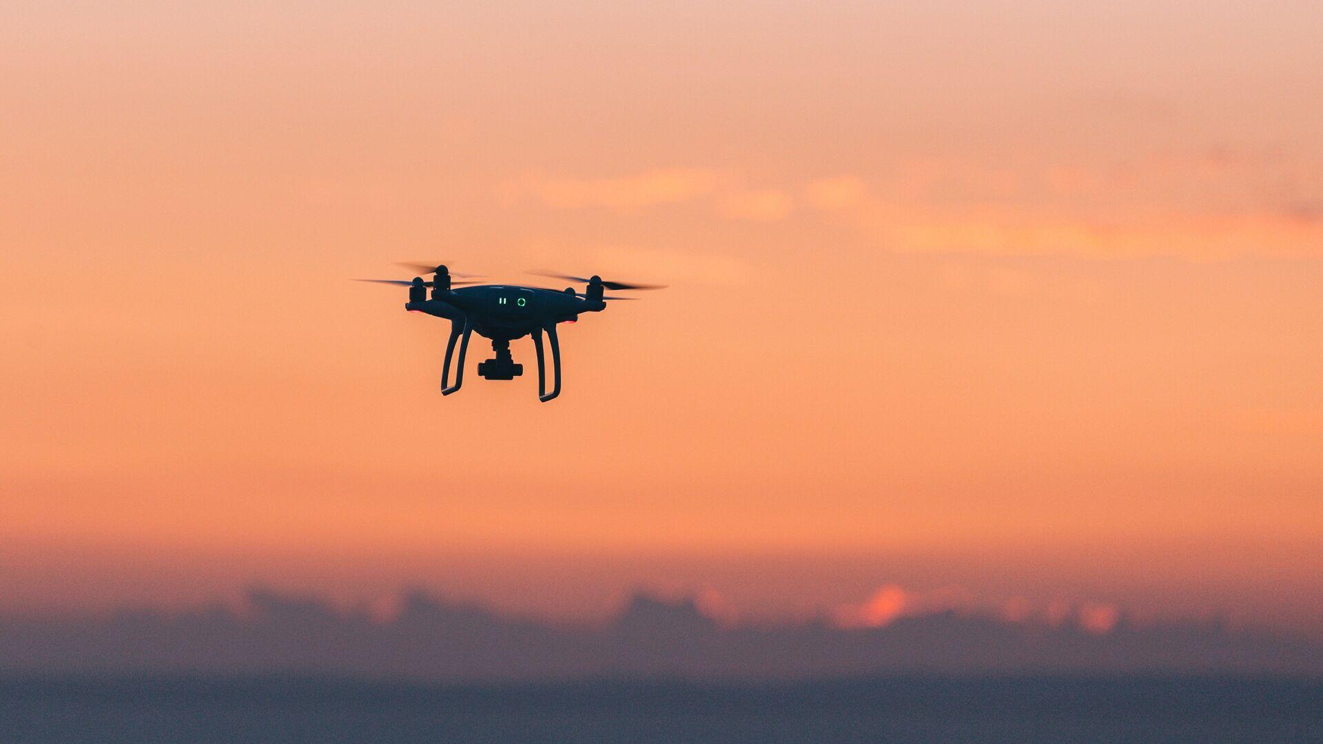 Un dron (imagen referencial) - Sputnik Mundo, 1920, 02.02.2021