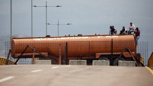 El puente Tienditas - Sputnik Mundo