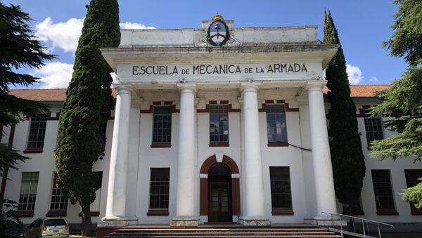 En la Escuela de Mecánica de la Armada, en Argentina, funcionaba en la última dictadura militar un centro clandestino de detención y desaparición de personas. - Sputnik Mundo