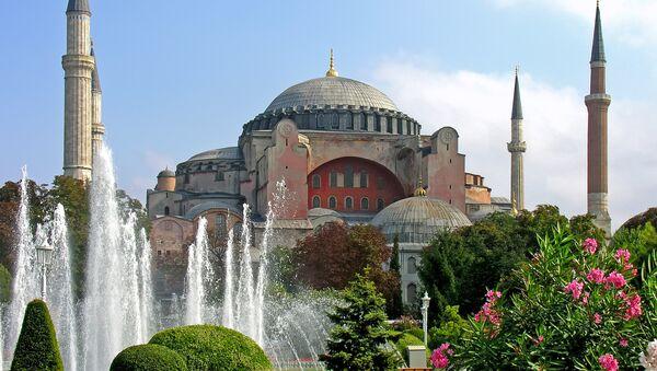 El templo de Santa Sofía en Estambul - Sputnik Mundo