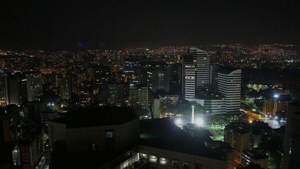 Caracas durante el apagón - Sputnik Mundo