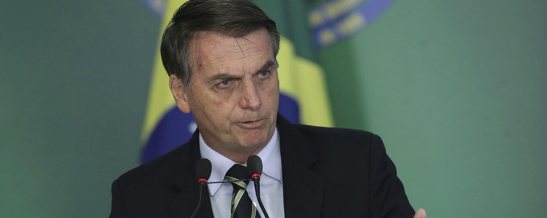 Jair Bolsonaro, presidente de Brasil - Sputnik Mundo, 1920, 22.11.2019