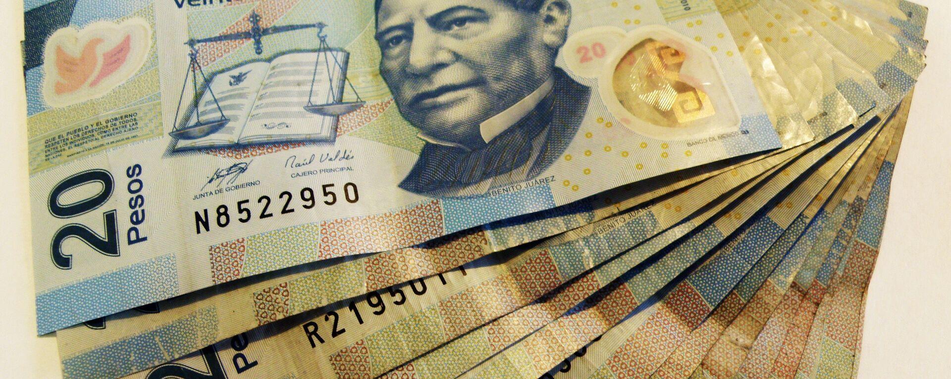 Pesos mexicanos - Sputnik Mundo, 1920, 08.09.2021