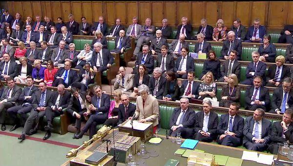 Sesión del Parlamento británico - Sputnik Mundo