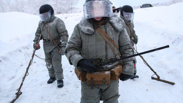 Zapadores rusos, foto de archivo - Sputnik Mundo