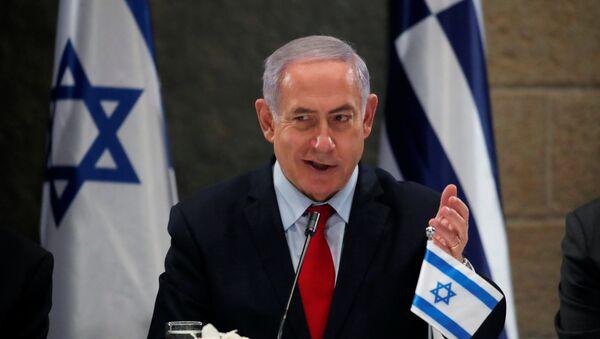 Benjamín Netanyahu, primer ministro de Israel - Sputnik Mundo