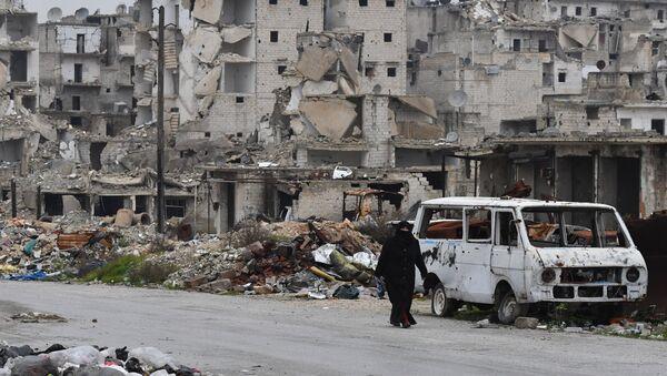 Situación en Alepo, Siria (archivo) - Sputnik Mundo