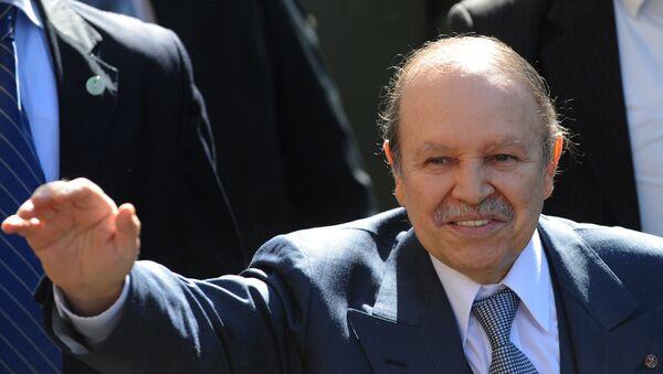 Abdelaziz Buteflika, presidente de Argelia (archivo) - Sputnik Mundo