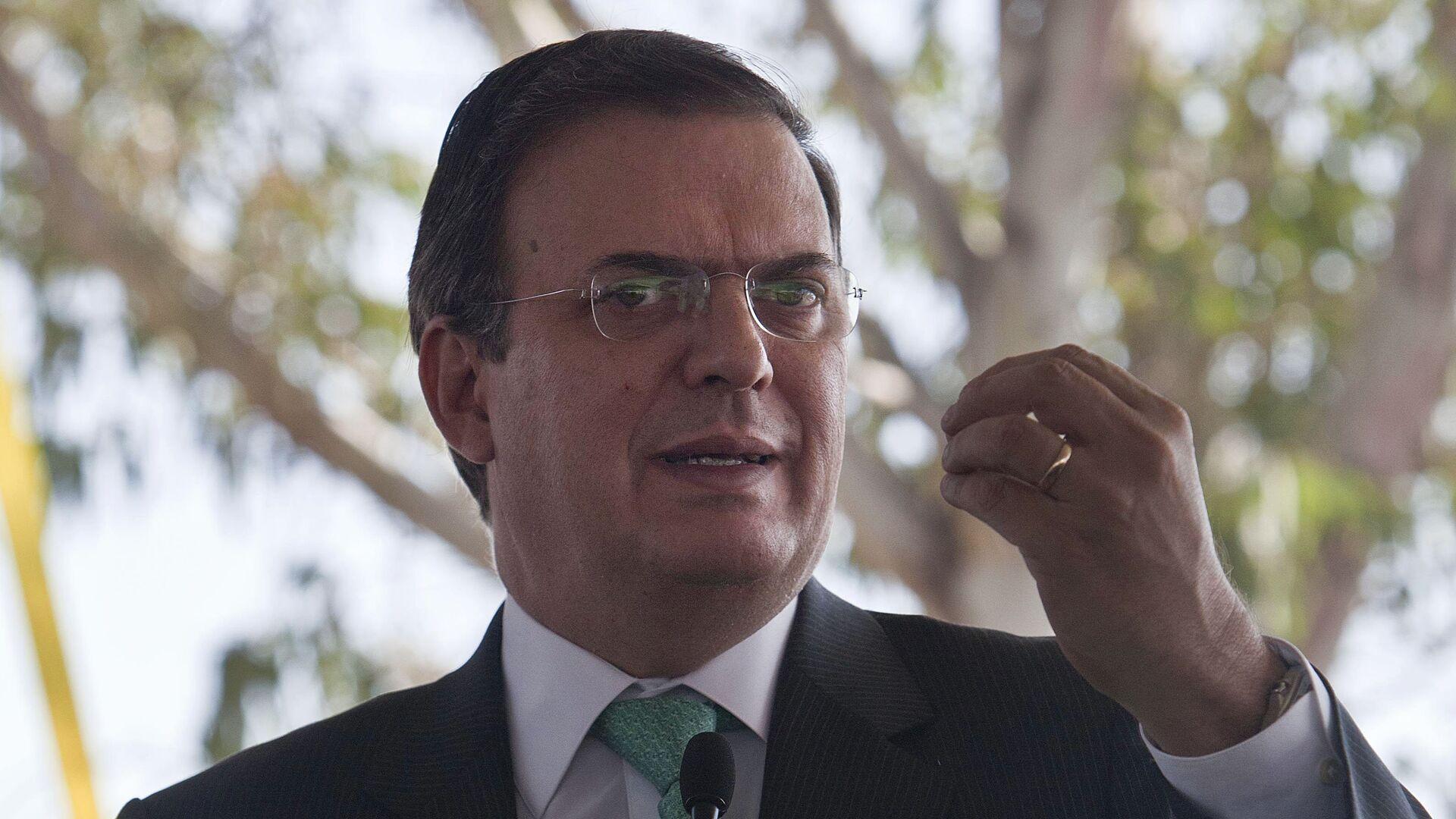 Marcelo Ebrard, secretario de Relaciones Exteriores de México - Sputnik Mundo, 1920, 28.09.2021