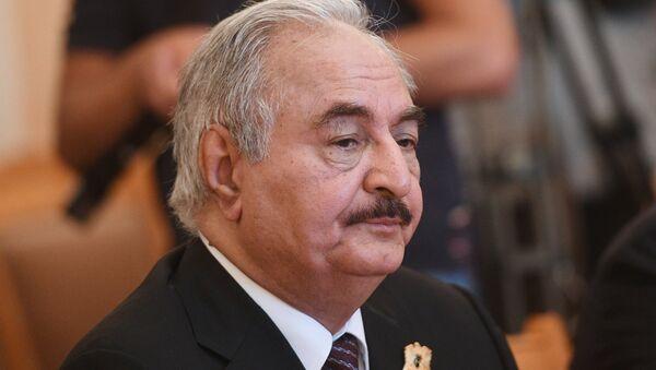 Jalifa Haftar, comandante del ENL (archivo) - Sputnik Mundo