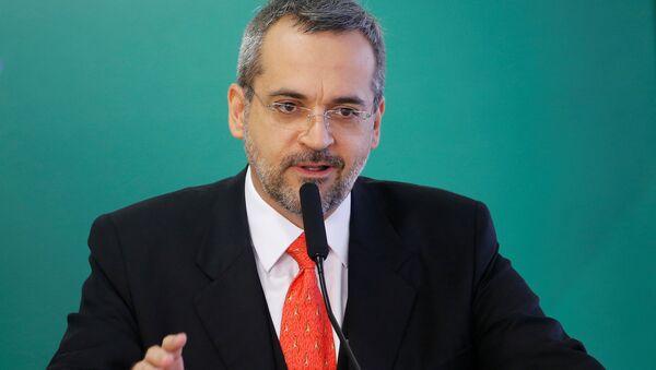 Abraham Weintraub, ministro de Educación de Brasil - Sputnik Mundo