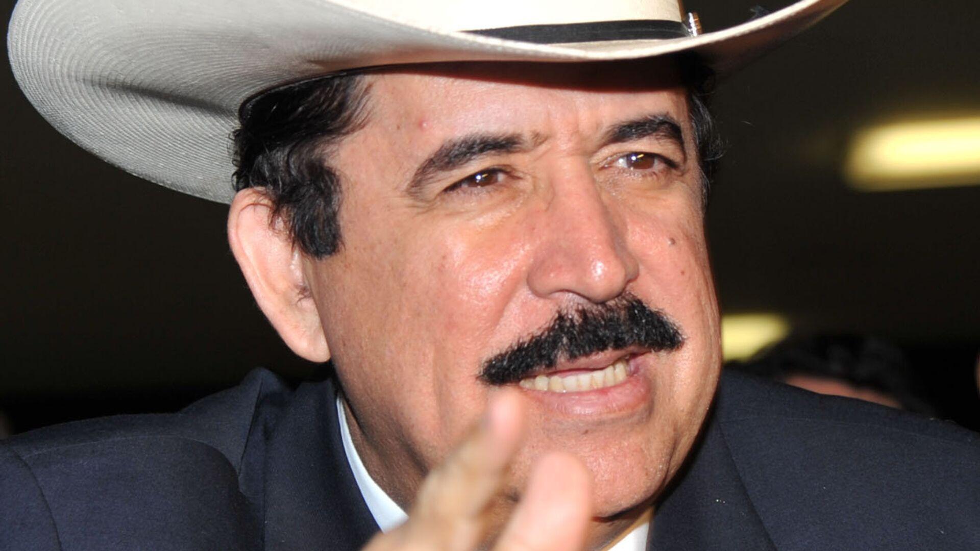 Manuel Zelaya, expresidente de Honduras - Sputnik Mundo, 1920, 12.03.2021
