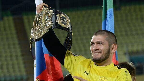Khabib Nurmagomedov, boxeador ruso de artes marciales - Sputnik Mundo