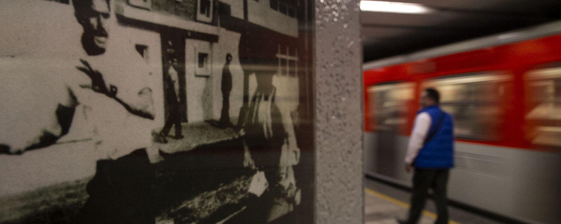Fotografía de la masacre del 10 de junio del 1971 en el metro Normal - Sputnik Mundo, 1920, 15.04.2019