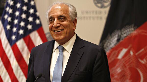 Zalmay Khalilzad, enviado especial de EEUU para Afganistán (archivo) - Sputnik Mundo