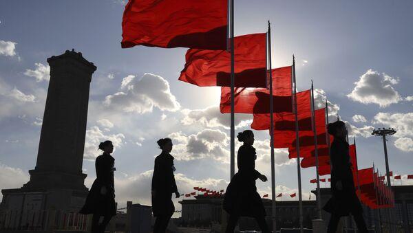 Banderas de China - Sputnik Mundo