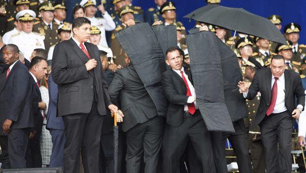 Atentado contra el presidente de Venezuela, Nicolás Maduro (archivo) - Sputnik Mundo