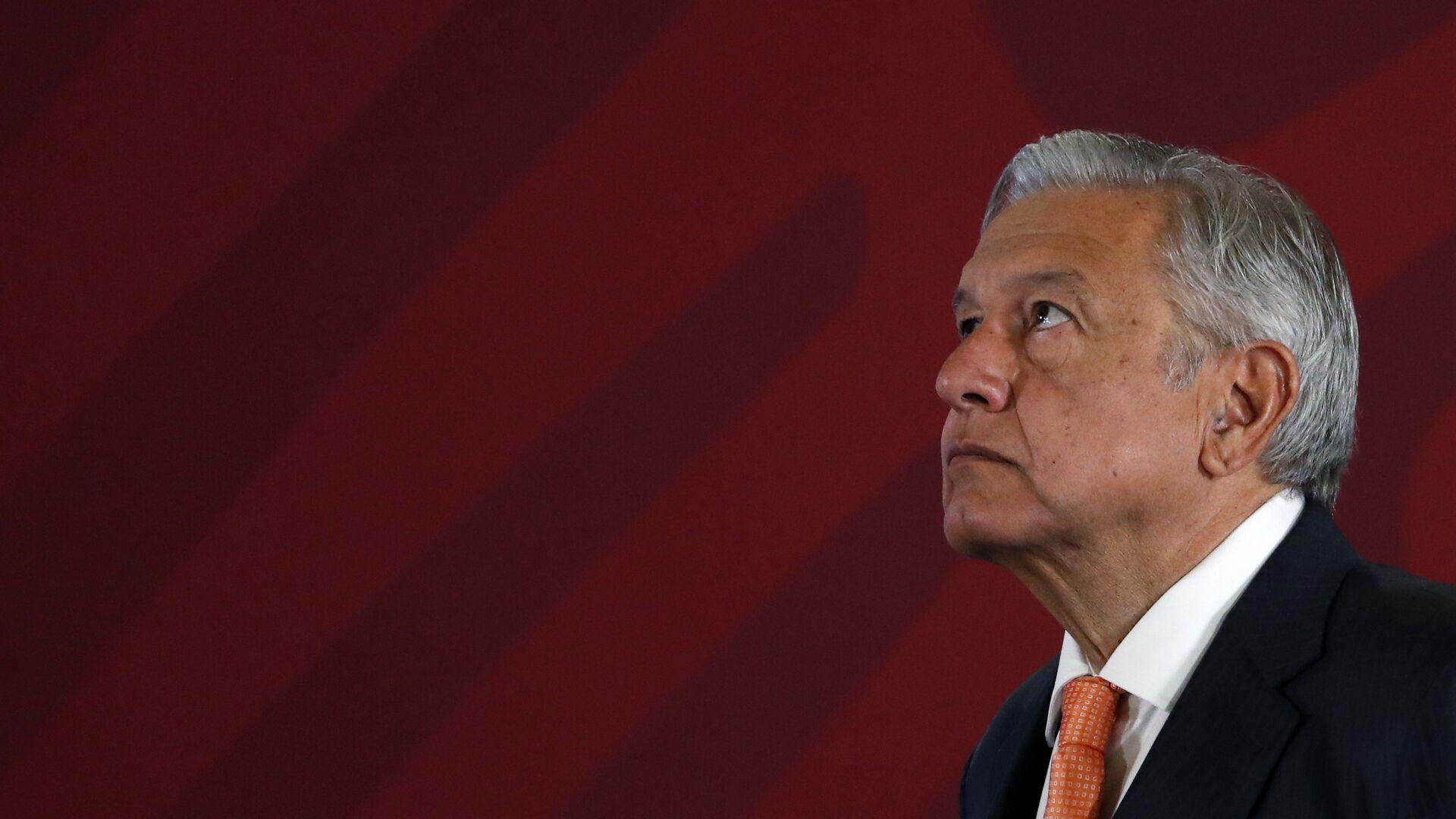 Andrés Manuel López Obrador, presidente de México - Sputnik Mundo, 1920, 04.06.2021