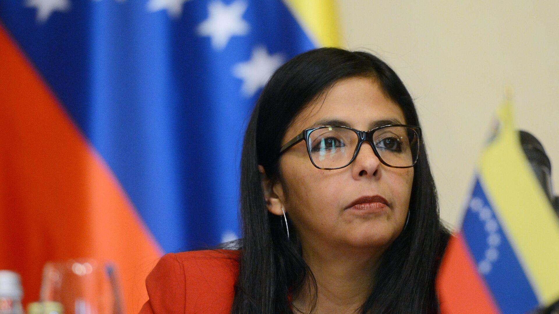 Delcy Rodríguez, vicepresidenta de Venezuela - Sputnik Mundo, 1920, 12.10.2021