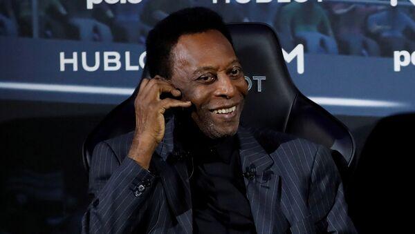 Pelé, exfutbolista brasileño - Sputnik Mundo
