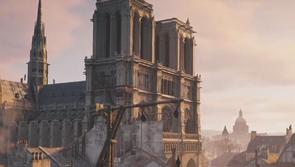 El vídeojuego Assassin's Creed Unity, captura de pantalla - Sputnik Mundo