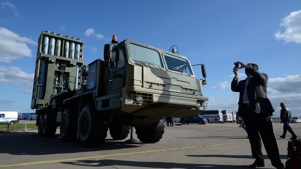 El sistema de defensa antiaérea S-350 - Sputnik Mundo