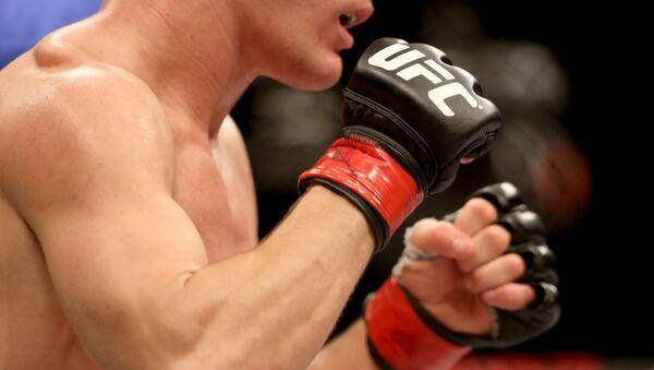 Un luchador de MMA (archivo) - Sputnik Mundo