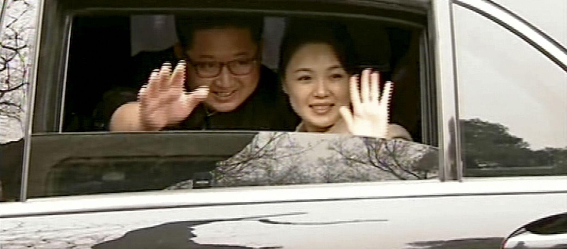 El líder de Corea del Norte, Kim Jong-un, en Pekín, China (archivo) - Sputnik Mundo, 1920, 01.02.2021