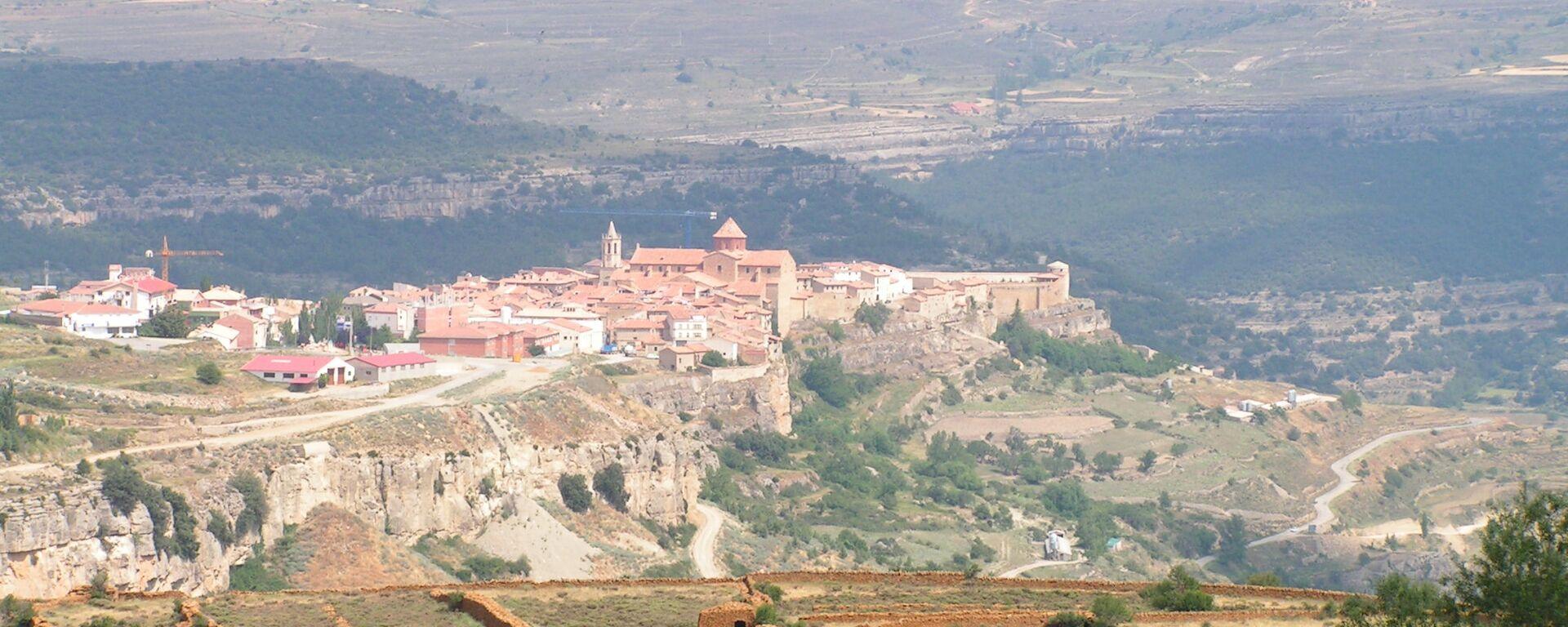Cantavieja, municipio de la provincia de Teruel en la comunidad autónoma de Aragón, España (imagen referencial) - Sputnik Mundo, 1920, 23.04.2019