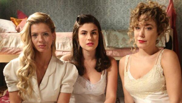 Actrices argentinas, protagonistas de la telenovela Argentina, tierra de amor y venganza - Sputnik Mundo