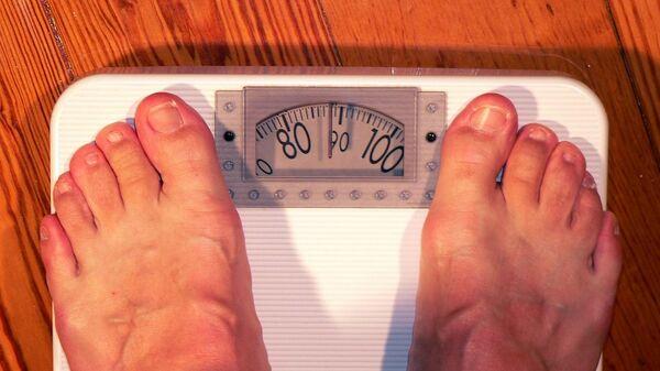 Una persona obesa, referencial - Sputnik Mundo