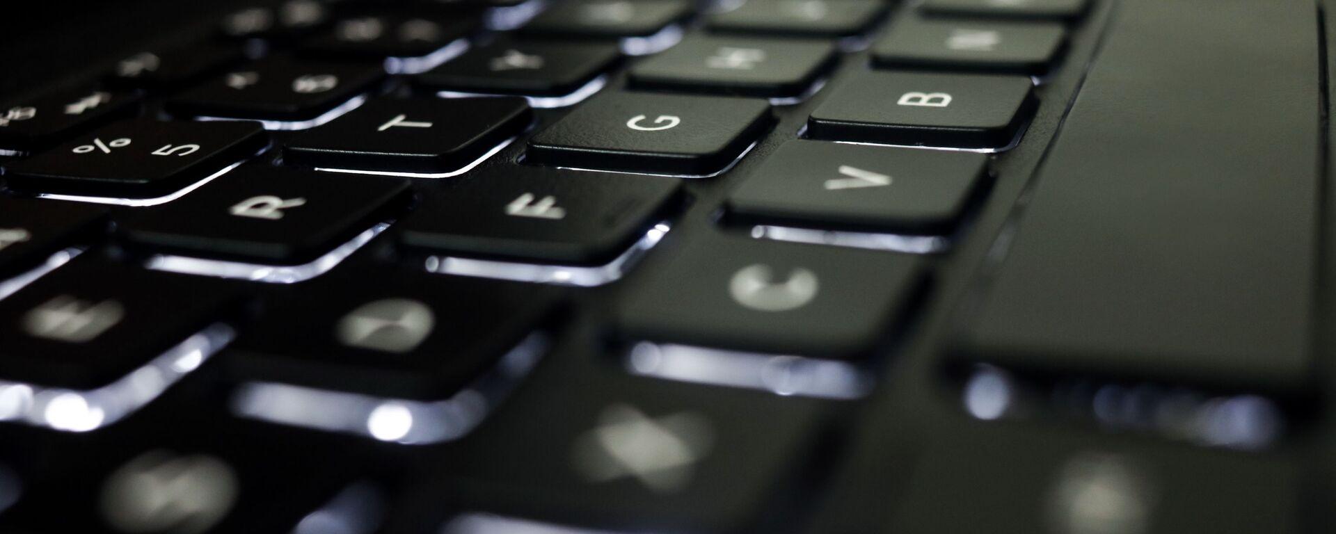 Un teclado, imagen referencial - Sputnik Mundo, 1920, 16.07.2021