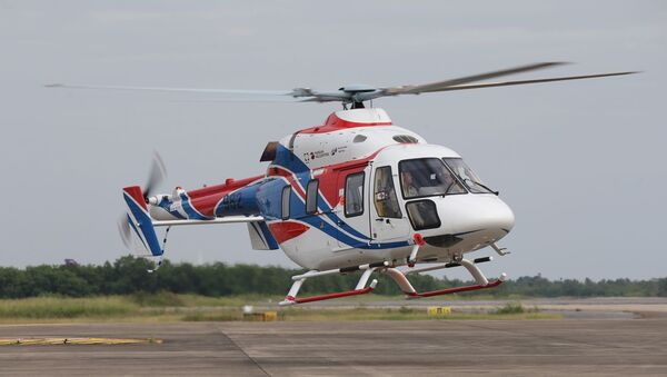 Helicóptero ligero Ansat - Sputnik Mundo