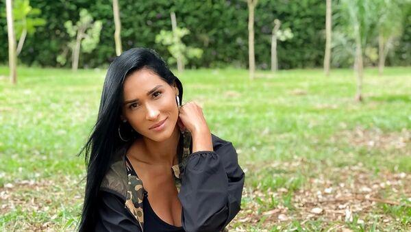 Jaqueline Carvalho, exjugadora de voleibol brasileña - Sputnik Mundo