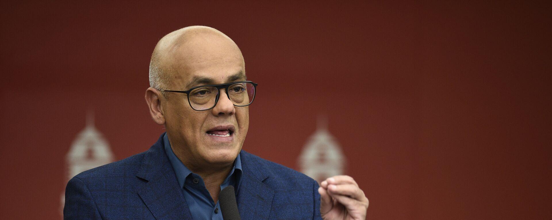 Jorge Rodríguez, ministro de Comunicación e Información de Venezuela - Sputnik Mundo, 1920, 01.03.2021