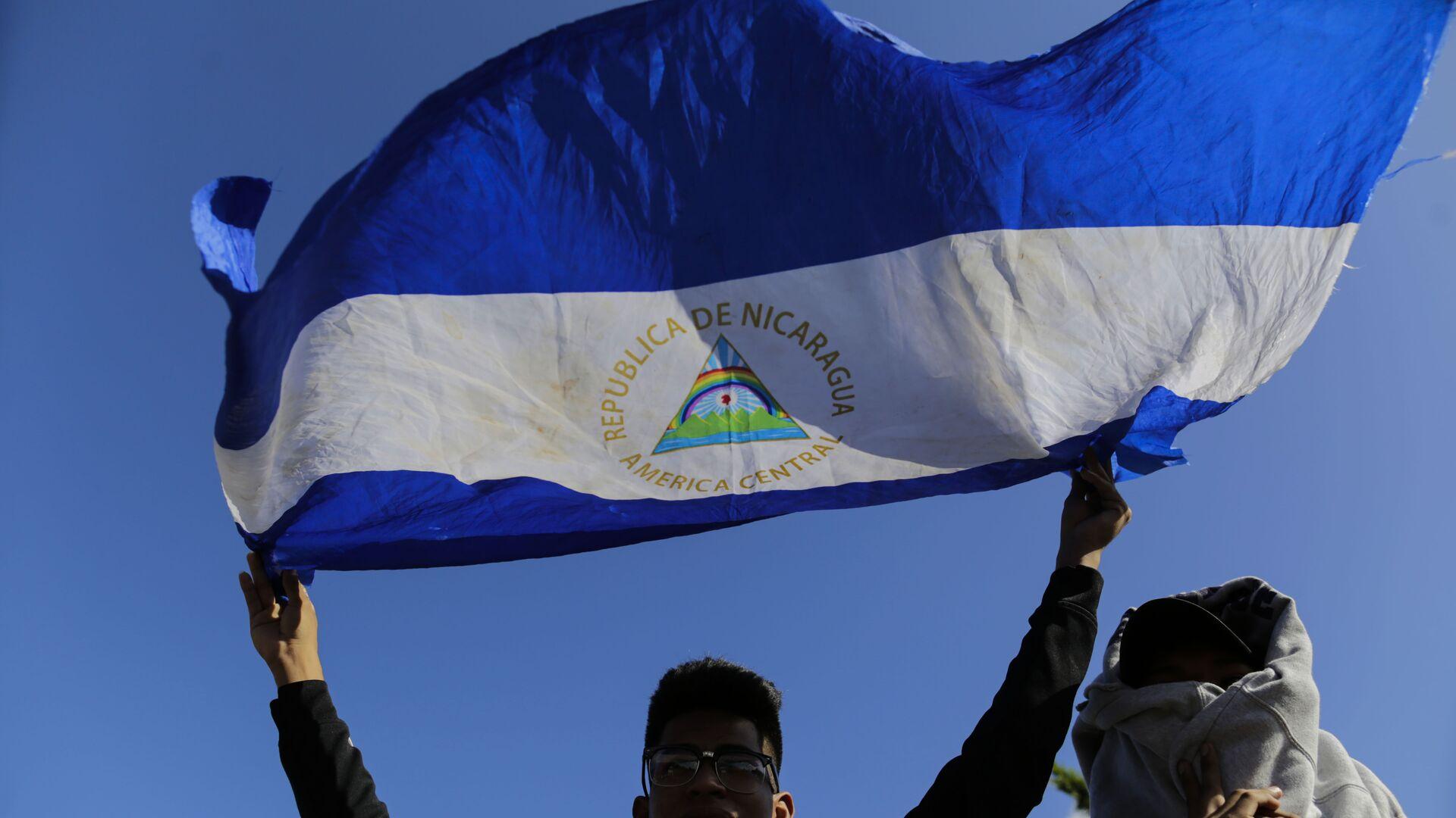 Bandera de Nicaragua - Sputnik Mundo, 1920, 24.03.2021
